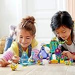 Lego-Trolls-World-Tour-Festa-al-Villaggio-Pop-con-5-Minifigure-Trolls-Poppy-Cooper-Branch-Guy-Diamond-e-Tiny-Diamond-Pi-2-Baccelli-Portatili-Set-di-Costruzioni-per-Bambini-6-Anni-41255