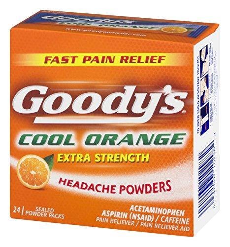 Goody's Strength Powders | Orange | 24 Count 1 Pack
