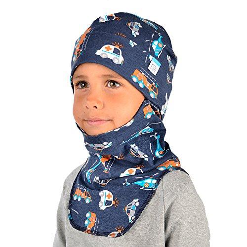 (Kids Balaclava for Boys & Girls - Breathable Yet Warm Organic Cotton Face Mask)