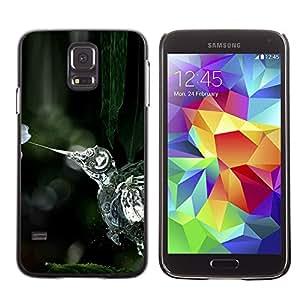 EJOY---Cubierta de la caja de protección la piel dura para el / Samsung Galaxy S5 / --Steampunk Aves