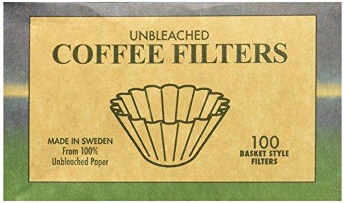 Beyond Gourmet Basket Style Unbleached Coffee Filter-100 Per Pack