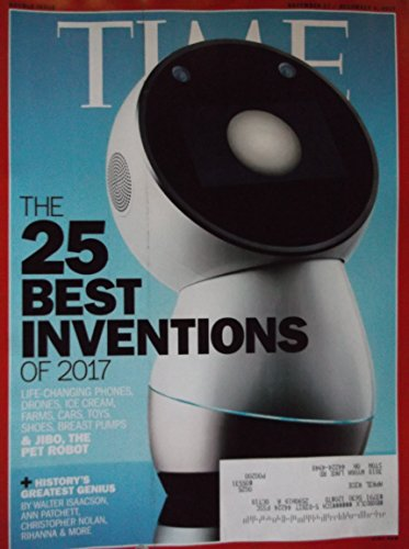 Time Magazine November 27 2017 25 Best Inventions of 2017