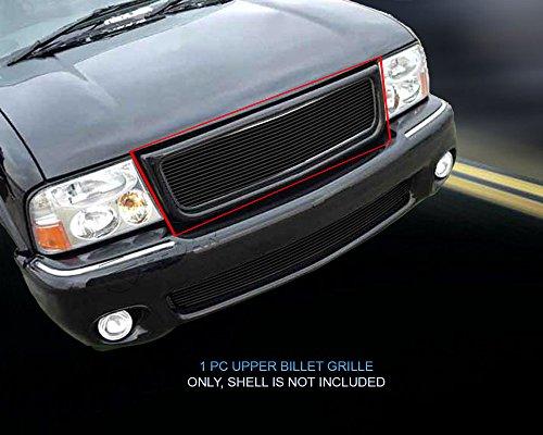 Fedar 1998-2003 GMC Sonoma/S-15 Pickup/Jimmy Main Upper Billet Grille Grille 1-pc Set-Black