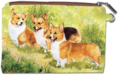 - Welsh Corgi Zipper Pouch