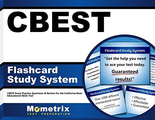 CBEST Flashcard Study System: CBEST Exam Practice Questions & Review for the California Basic Educational Skills Test (Cards)