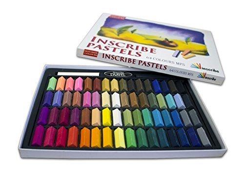 Inscribe Artist Soft Pastels Box Set (64 Colours) by Inscribe