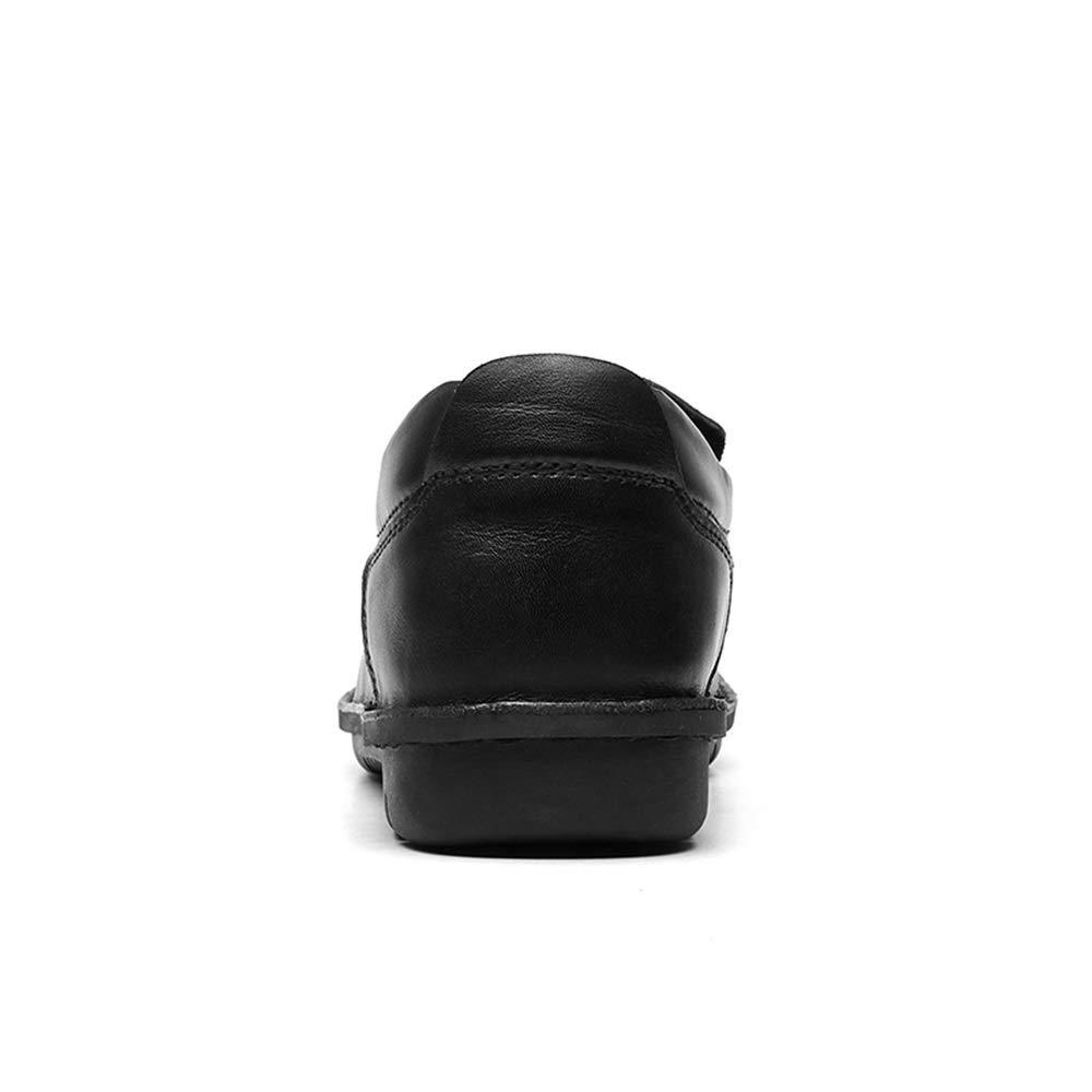 Easy Go Shopping Driving Loafer für Männer Stiefel Stiefel Stiefel Mokassins Slip on Style OX Leder Einfache Volltonfarbe Runde Zehe,Grille Schuhe  531907