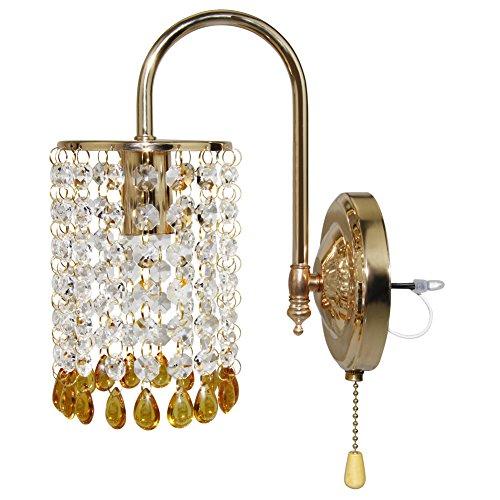 Fuloon Modern Fashion Crystal Golden