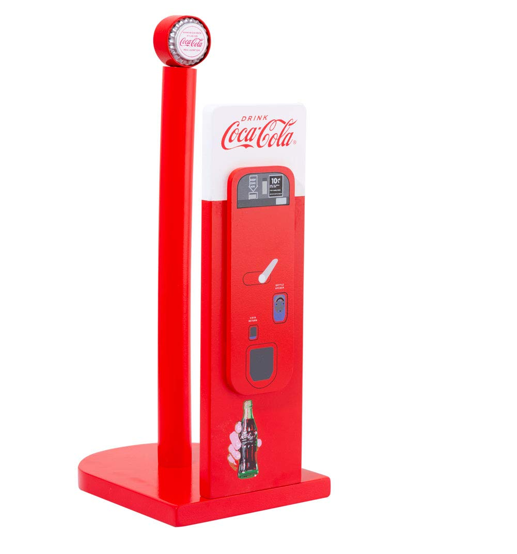 Porta rollos de cocina retro Coca Cola mquina expendedora: Amazon ...