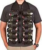 Be the life of the party with this 12-pack bandolier vest. Conveniently holds 12 beverages and adjust to fit most. No more lugging your drinks to the next party or tailgate. By EZ drinker.