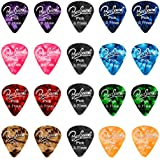 BestSounds Assorted Pearl Celluloid Guitar Picks-For Your Electric, Acoustic, or Bass Guitar (Medium Sized (0.71mm), 100 Pack)