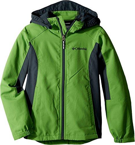 Columbia Big Boys' Splashflash Ii Hooded Softshell Jacket, Cyber Green, M