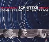 schnittke symphony 3 - Schnittke: Complete Violin Concertos, Nos. 1-4