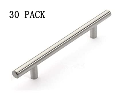 12mm stainless steel kitchen cabinet handles t bar pull 8 inches