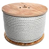 Beavis high-strength Professional-Duty Twisted Rope (Reel), 1/4'' x 1,200'