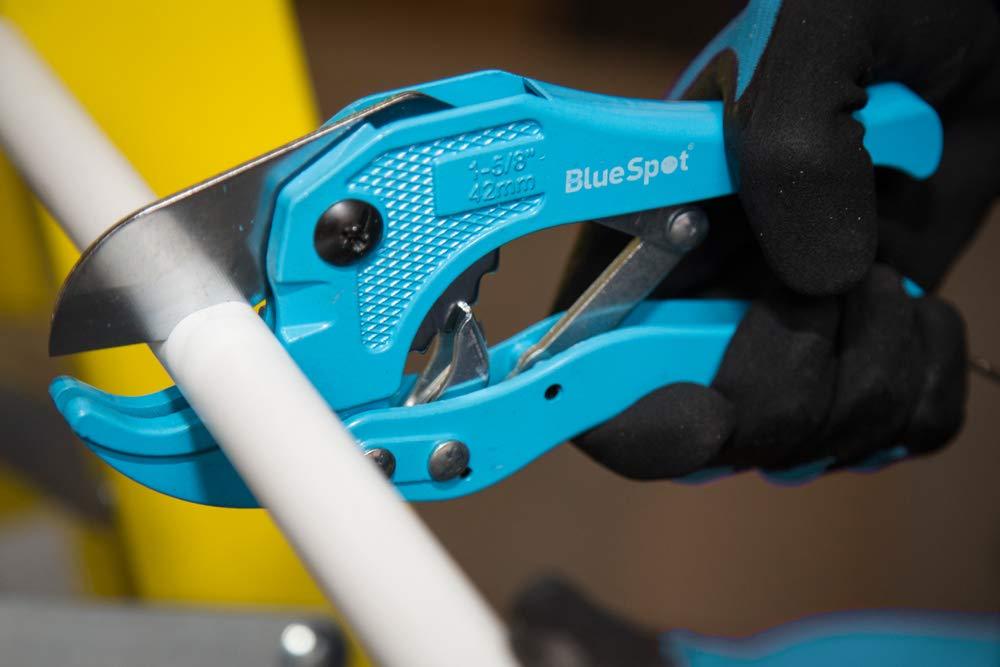 Import Grande Bretagne Blue Spot Coupe-tube pour tubes en PVC A cliquet 42 mm