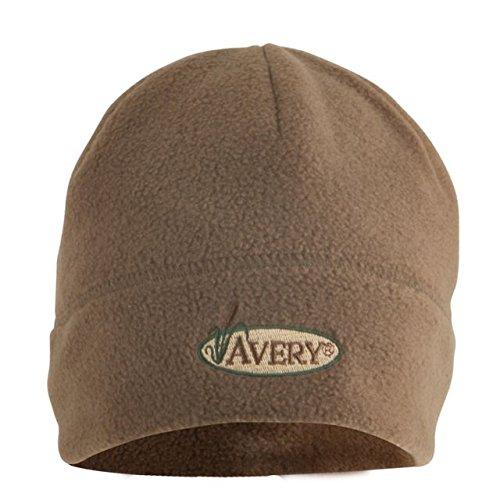 Avery Hunting Gear Windproof Fleece Skull Cap-Dark Moss ()