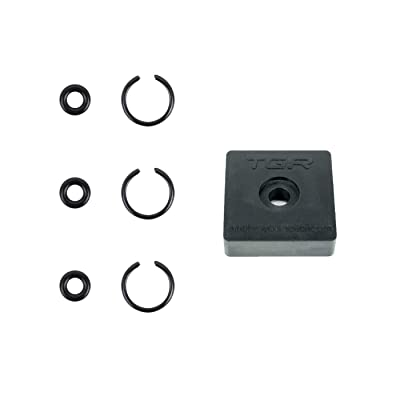 """TOOLGUY REPUBLIC 3/8"""" Impact Retaining Ring Clip with O-Ring fits Milwaukee Type Wrenches - 3 Sets"""