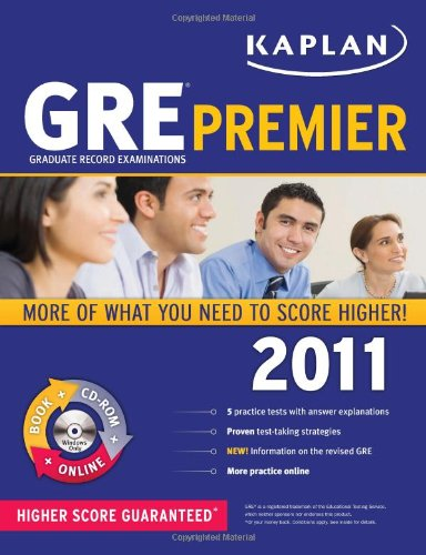 Kaplan GRE 2011 Premier with CD-ROM (Kaplan GRE - Gre Premier Program