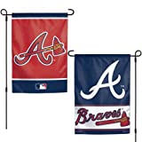 WinCraft Atlanta Braves Flag 12x18 Garden Style 2 Sided