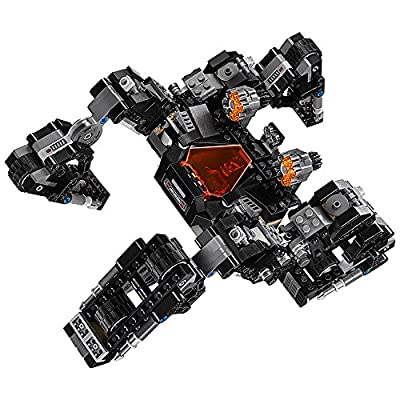 LEGO Super Heroes 76086 Knightcrawler Tunnel Attack (622 Piece): Toys & Games