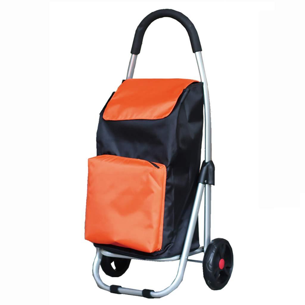 肌触りがいい NUBAOgy Orange 買い物かご買い物かごカートに入れる小さなプルカート折りたたみトロリー車のアルミニウム合金ポータブルトロリー荷物トレーラー (色 : Green) Green) B07GVTP997 Orange B07GVTP997 Orange, R&Bミニカー:39c1591c --- by.specpricep.ru