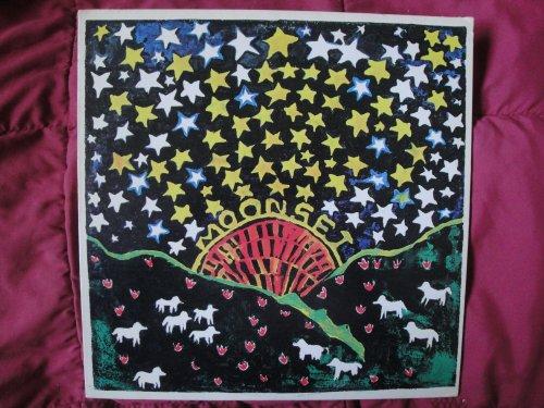 Joe Bauer Moonset 1971 White Label Raccoon/ Warner Bros. WS 1901 Stereo Vinyl Lp Record RACCOON #3 EX