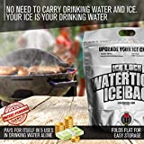 Reusable Ice Packs for Coolers -2 PACK- 3 Uses in