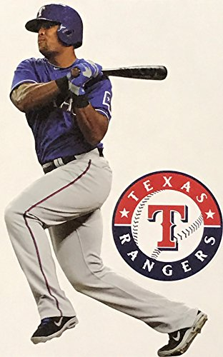 "Adrian Beltre Mini FATHEAD Texas Rangers Official MLB Vinyl Wall Graphic 7"" INCH"