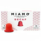 MIAMO COFFEE - DECAF - Pack of 50 Nespresso Compatible Capsules - Fit to all Nespresso Original Line Machines - Intensity 6/10