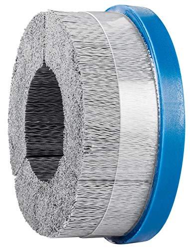 PFERD 84137 M-Brad High Density Composite Disc Brush, Silicon Carbide Grain, 5' Diameter, 0.022 Round Filament, 3000 RPM, 320 Grit