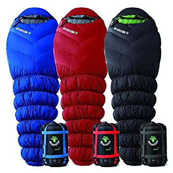 Image of Sport 4Monster Sleeping Bag for Camping and Mountaineering, Lightweight Mummy Bag for Adults & Kids, Designed for Backpacking