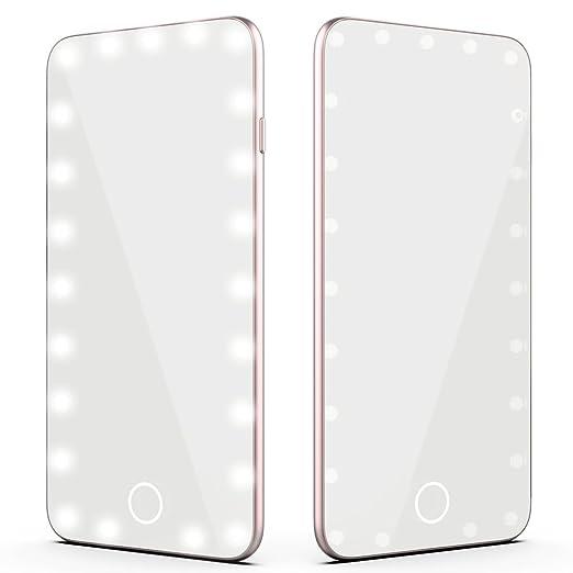 Amazon.com: fawziya Espejo Cosmético LED Touch Pro LED ...