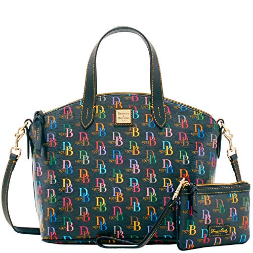 - Dooney & Bourke Satchel with Wristlet Perfect Pair