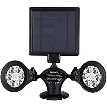 Solar Lights Outdoor Motion Sensor 1400 Lumens Bright Led