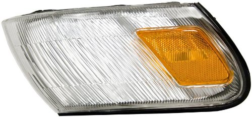 Unknown Partslink Number TO2551106 OE Replacement Toyota Corolla Front Passenger Side Marker Light Assembly