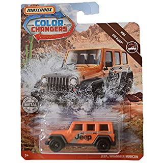Matchbox Color Changers Jeeep Wrangler Rubicon, Off Road