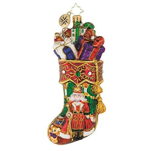 Christopher Radko Royal Stocking Stuffer Nutcracker Themed Glass - Nutcracker Radko Ornaments