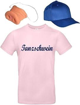 Coole-Fun-T-Shirts - Disfraz de Cerdito de la Suerte para Fiestas ...