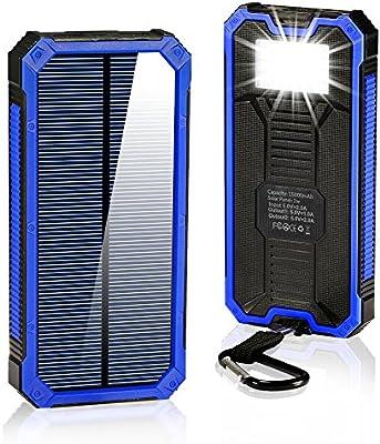 Amazon.com: GRDE cargadores solares de 15000mAh ...