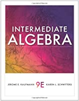 Intermediate Algebra, 9th Edition Front Cover