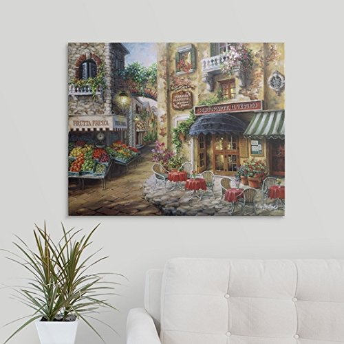 """Nicky Boehme Premium Thick-Wrap Canvas Wall Art Print entitled Buon Appetito 30\""""x24\"""""""
