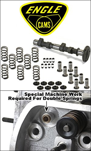 Engle Fk8 Stage 2 Camshaft Kit With Lifters, Single Valve Springs, Retainers, And Locks