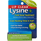 Lip Clear Lysine+ Cold Sore Treatment 0.25 oz ( Pack of 3)