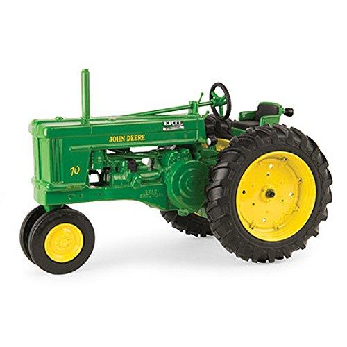 Toy Model Tractors (ERTL 1/16 John Deere Model 70 Tractor Toy 70th Anniversary Ed #45525A - LP53344)