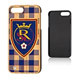 Keyscaper MLS Real Salt Lake Plaid Case for iPhone 8 Plus/7 Plus, Wood