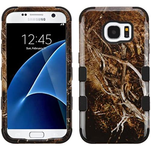 Galaxy S7 Case, Rock Me Wireless (TM) 2 items Bundle - 24K Gold Plating Sticker and Triple Layers Hybrid Protector Case Cover for Samsung Galaxy S7. (Yellow Sales