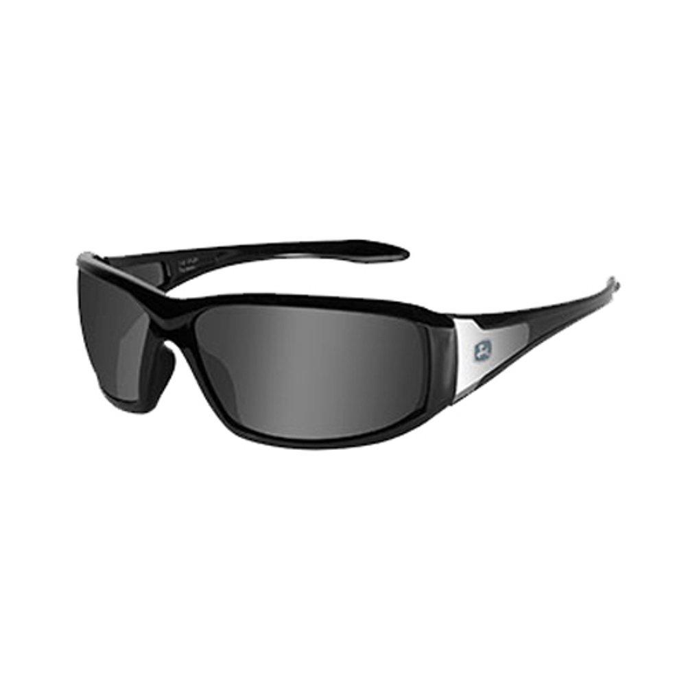 John Deere Wiley X Avert-X Safety Sunglasses Gray Black