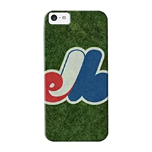 Exultantor Series Skin Case Cover Ikey Case For Iphone 5c(montreal Expos)