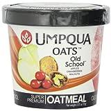 Umpqua Oats All Natural Oatmeal, Old School, 2.57 Ounce (Pack of 12) by Umpqua Oats